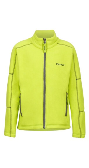 Marmot Lassen Fleece Boys Bright Lichen